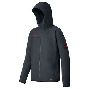 【送料無料】MAMMUT(マムート) SOFtech GRANITE hooded Jacket Men's S 0001(black) 1010-25440