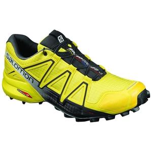 【送料無料】SALOMON(サロモン) FOOTWEAR SPEEDCROSS 4 26.5cm Empire YellowxBlackxBlack L39240000