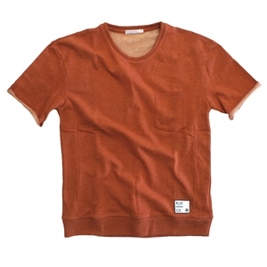 blue infinity ice(ブルーインフィニティアイス) LIGHT SWEAT T-SHIRTS M 083(ORANGE) BIJ99504