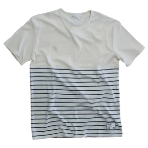 blue infinity ice(ブルーインフィニティアイス) BI-COLOR BORDER T-SHIRTS