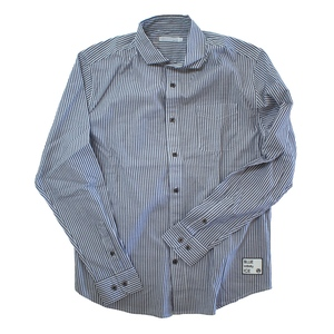 【送料無料】blue infinity ice(ブルーインフィニティアイス) LONG SLEEVE SHIRTS M 739(STRIPE BLUE) BIJ99800