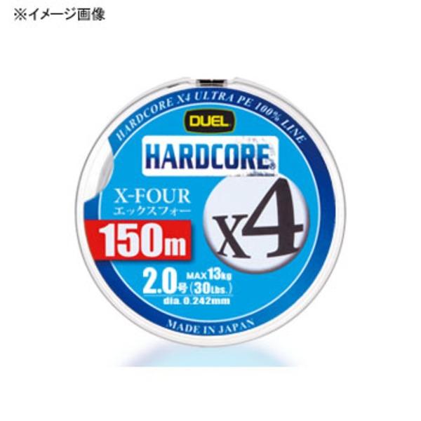 デュエル(DUEL) HARDCORE X4(ハードコア エックスフォー) 150m オールラウンドPEライン