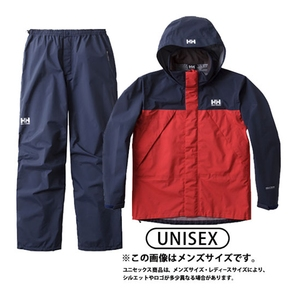 HOE11701 HELLY RAIN SUIT XL R(レッド)