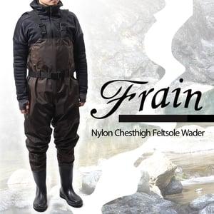 フレイン(Frain) ナイロンチェストハイフェルトウェダー ONT02F3L チェストハイブーツフット