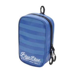 BlueBlue(ブルーブルー) ターポリンポーチ #03 ボーダータイプxブルー