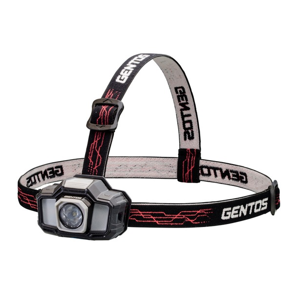 GENTOS(ジェントス) ヘッドライト GD-243D 最大130ルーメン 単四電池式 GD-243D ヘッドランプ