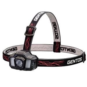 GENTOS(ジェントス) ヘッドライト GD-200R 最大200ルーメン 充電式 GD-200R