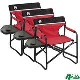 Coleman(コールマン) サイドテーブルデッキチェアST×3脚【お得な3点セット】 2000017005 座椅子&コンパクトチェア
