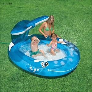インテックス ホエールスプレープール #57435 ビーチ・プール用品