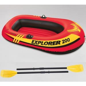 INTEX(インテックス) エクスプローラー 2人用 ゴムボート オール/ミニポンプ付 #58331