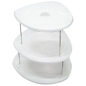 フォッジルズ(Fozzils) パーティープレート(3段) 23530 メラミン&プラスティック製お皿