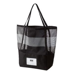 【送料無料】HELLY HANSEN(ヘリーハンセン) MESH BAG K(ブラック) HY91634