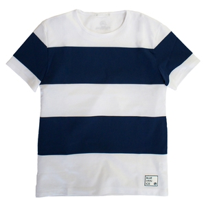 blue infinity ice(ブルーインフィニティアイス) PANEL BORDER T-SHIRTS