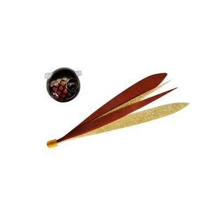 ジャッカル(JACKALL) ビンビン玉スライド Wアピール 45g ダークコーラxカニ&タコシルエット