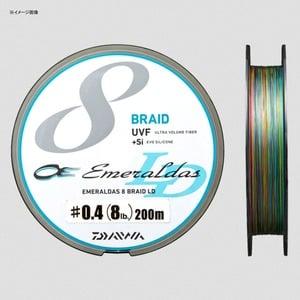 ダイワ(Daiwa) UVF エメラルダスセンサー 8ブレイドLD+Si 200m 07320002 エギング用PEライン