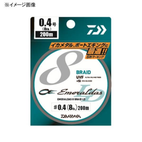 ダイワ(Daiwa) UVF エメラルダスセンサー 8ブレイドLD+Si 200m 07320003 エギング用PEライン