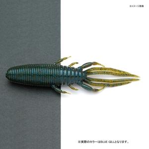 RAIDJAPAN(レイドジャパン) バギークロー 4インチ BLUE GILL