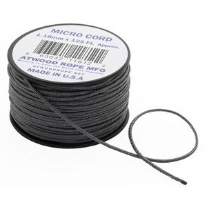 アットウッドロープ(Atwood Rope) マイクロコード グラファイト 44001