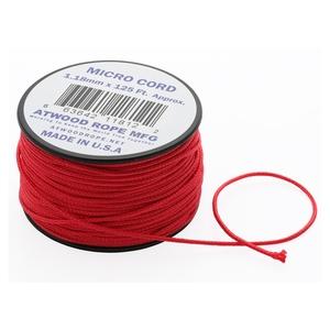 アットウッドロープ(Atwood Rope) マイクロコード レッド 44005