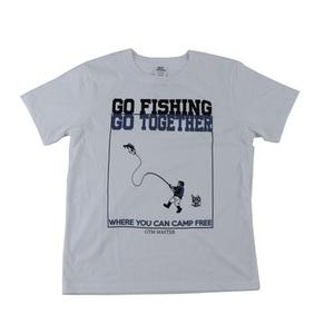 gym master(ジムマスター) GO FISHING Tee L 01(ホワイト) G799381
