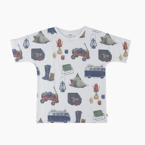 gym master(ジムマスター) ビッグペイントTee G733303 メンズ半袖Tシャツ