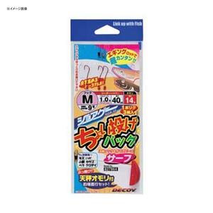 カツイチ(KATSUICHI) DECOY ショアゲー ちょい投げパック SGR-50 仕掛け