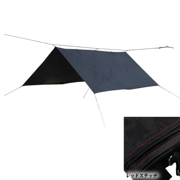 Bush Craft(ブッシュクラフト) ORIGAMI TARP(オリガミタープ) 02-06-tent-0011 ウィング型(ポール:1~2本)