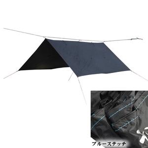 【送料無料】Bush Craft(ブッシュクラフト) ORIGAMI TARP(オリガミタープ) 3x3 ブルーステッチ 02-06-tent-0011