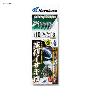 ハヤブサ(Hayabusa) 落し込みスペシャル ケイムラ&ホロフラッシュ 強靭イサキ鈎 4本鈎 鈎8/ハリス8 SS429