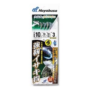 ハヤブサ(Hayabusa) 落し込みスペシャル ケイムラ&ホロフラッシュ 強靭イサキ鈎 4本鈎 鈎10/ハリス12 SS429