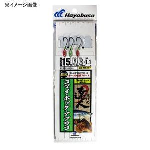 ハヤブサ(Hayabusa) コマイ・ホッケ・アブラ 流線フロート 胴突式 3本 14-5 NB377