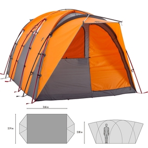 MSR ハブ 37303 ファミリードームテント