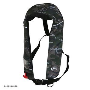Takashina(高階救命器具) 国土交通省承認 首掛け式ライフジャケット 桜マーク タイプA BSJ-2520RS インフレータブル(自動膨張)