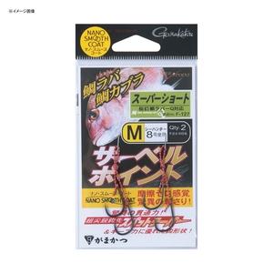 がまかつ(Gamakatsu) 糸付 サーベルポイント(スーパーショート) 60089-1-8