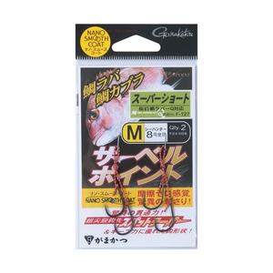 がまかつ(Gamakatsu) 糸付 サーベルポイント(スーパーショート) 60089-2-8