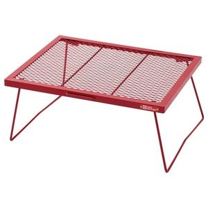 ウッドライン スチールワーク FDテーブル600  RED
