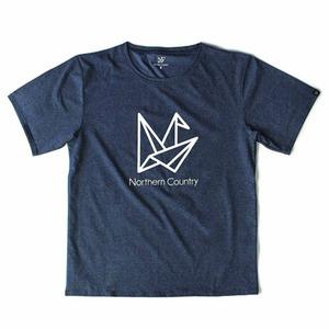 ノーザンカントリー(Northern Country) トレッキング Tシャツ L ネイビー TR-1301