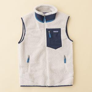 【送料無料】パタゴニア(patagonia) M's Classic Retro-X Vest(メンズ クラシック レトロX ベスト) S NAT(Natural) 23048