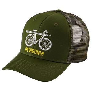 パタゴニア(patagonia) Snow Cycle Trucker Hat(スノー サイクル トラッカー ハット) ALL GLDG(Glades Green) 38208
