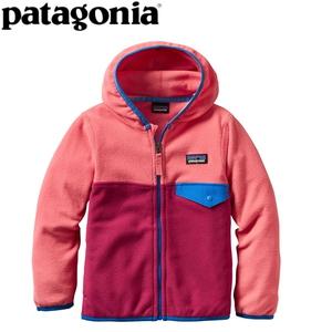 【送料無料】パタゴニア(patagonia) Baby Micro D Snap-T Jacket(ベビー マイクロD スナップT ジャケット) 12M CFTP(Craft Pink) 60155