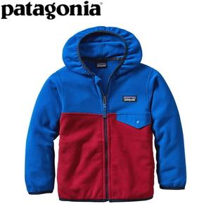【送料無料】パタゴニア(patagonia) Baby Micro D Snap-T Jacket(ベビー マイクロD スナップT ジャケット) 12M CSRD(Classic Red) 60155