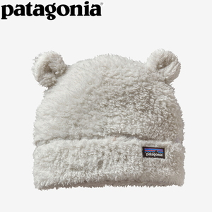 パタゴニア(patagonia) Baby Furry Friends Hat(ベビー ファーリー フレンズ ハット) 12M BCW(Birch White) 60560