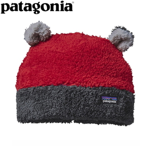 パタゴニア(patagonia) Baby Furry Friends Hat(ベビー ファーリー フレンズ ハット) 6M CSRD(Classic Red) 60560