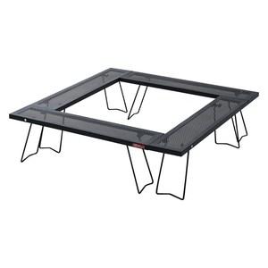 コネクションテーブル4セットライト  BK