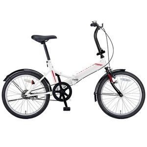 キャプテンスタッグ(CAPTAIN STAG) クエント FDB201 折り畳み自転車 20インチ 1段変速 軽量 YG-327 20インチ折りたたみ自転車