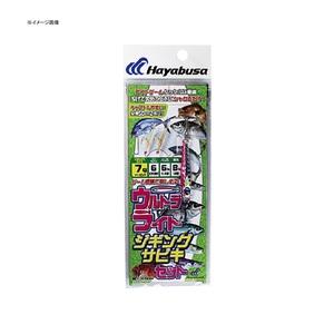 ハヤブサ(Hayabusa) 堤防ウルトラライトジギングサビキセット 2本鈎 HA282