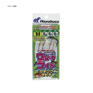 ハヤブサ(Hayabusa) 堤防ウルトラライトジギングサビキセット 2本鈎2セット HS491