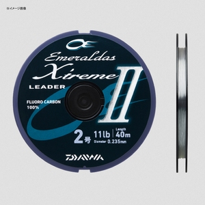 ダイワ(Daiwa) エメラルダス リーダー エクストリーム II 40m 1.75号/9lb ナチュラル 07303022