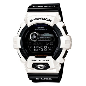 【送料無料】G-SHOCK(ジーショック) GWX-8900B-7JF 55.1x52.5 ホワイトxブラック