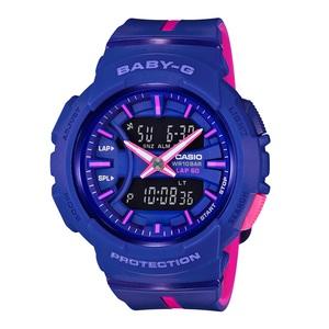 【送料無料】Baby-G(ベビージー) BGA-240L-2A1JF 46.4x42.6 ブルーxピンク